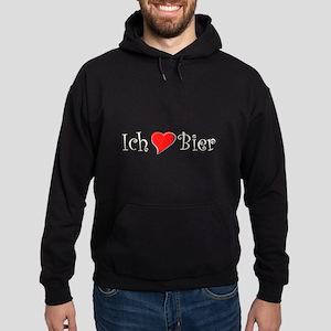 Ich liebe Bier Hoodie (dark)