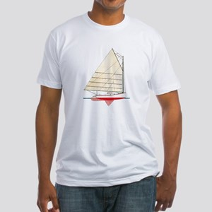 Cape Cod Catboat Fitted T-Shirt