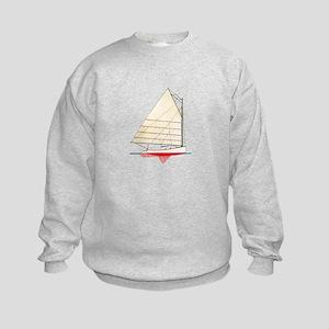 Cape Cod Catboat Kids Sweatshirt