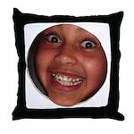 Big Sam Face Throw Pillow