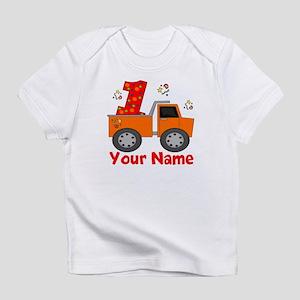 1st Birthday Dump Truck Infant T-Shirt