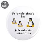 Friends don't let friends - 3.5