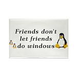 Friends don't let friends - Rectangle Magnet (10 p