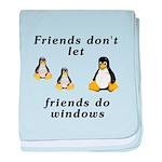 Friends don't let friends - baby blanket
