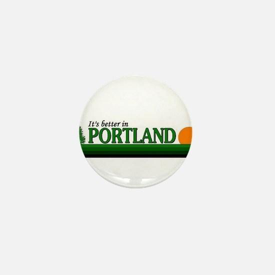 Love portland Mini Button