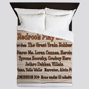 Old West Redrock Play House Queen Duvet