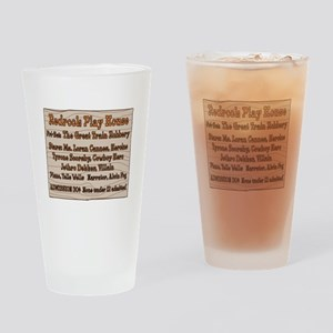 Old West Redrock Play House Drinking Glass