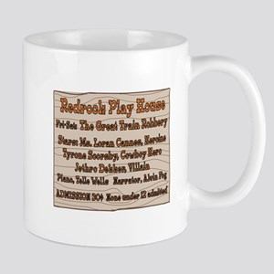 Old West Redrock Play House Mug