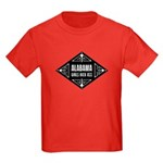Alabama Girls Kick Ass Kids Dark T-Shirt