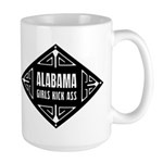 Alabama Girls Kick Ass Large Mug