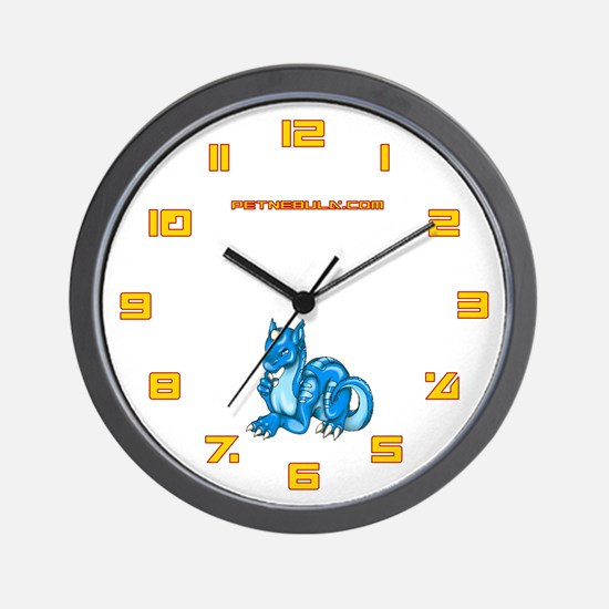 Blue Dragold Wall Clock