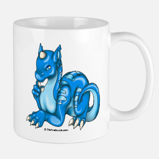 Blue Dragold Mug