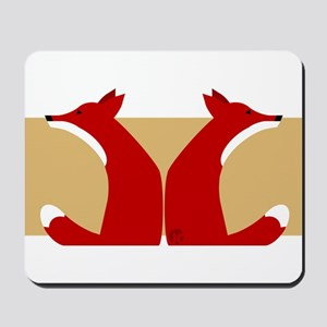 Foxes Mousepad