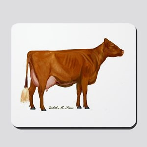 shorthorn canvas and prints Mousepad