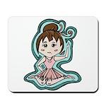 Little Anime Ballerina Mousepad
