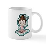 Little Anime Ballerina Mug