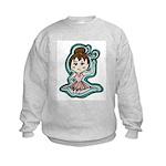 Little Anime Ballerina Kids Sweatshirt