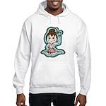 Little Anime Ballerina Hooded Sweatshirt