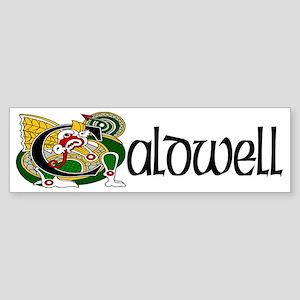 Caldwell Celtic Dragon Sticker (Bumper)