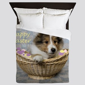 Easter Basket Queen Duvet
