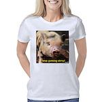 I love getting dirty! Women's Classic T-Shirt