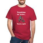 Zombies Eat Brains Dark T-Shirt