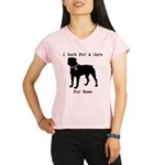 Rottweiler Personalizable I Bark For A Cure Perfor