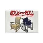 Rock and Roll Chairs Rectangle Magnet