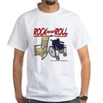 Rock and Roll Chairs White T-Shirt