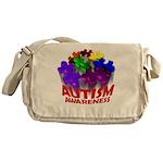 Autism Puzzle Jump Messenger Bag