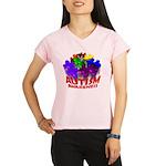 Autism Puzzle Jump Performance Dry T-Shirt