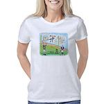 Pi_46 Endzone (10x10 Color Women's Classic T-Shirt