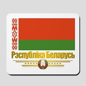 """""""Belarus Flag"""" Mousepad"""