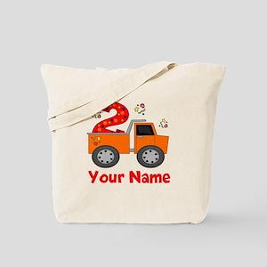 2nd Birthday Dump Truck Tote Bag