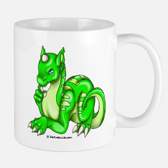 Green Dragold Mug
