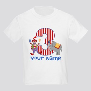 3rd Birthday Circus Kids Light T-Shirt