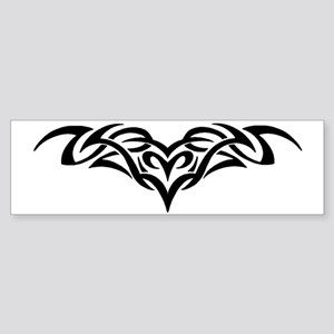 Aires Masculine Tribal Tattoo Bumper Sticker
