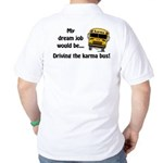 Karma Bus Golf Shirt