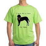 Saint Bernard Personalizable I Bark For A Cure Gre