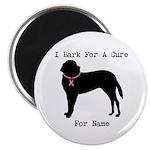 Saint Bernard Personalizable I Bark For A Cure Mag