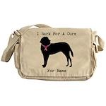 Saint Bernard Personalizable I Bark For A Cure Mes