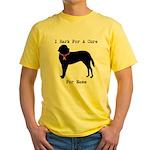 Saint Bernard Personalizable I Bark For A Cure Yel