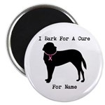 Saint Bernard Personalizable I Bark For A Cure 2.2