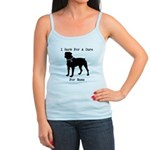 Rottweiler Personalizable I Bark For A Cure Jr. Sp