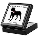 Rottweiler Personalizable I Bark For A Cure Keepsa