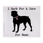 Rottweiler Personalizable I Bark For A Cure Stadi