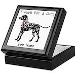 Shar Pei Personalizable I Bark For A Cure Keepsake