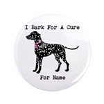 Shar Pei Personalizable I Bark For A Cure 3.5