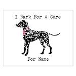 Dalmatian Personalizable I Bark For A Cure Small P