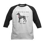 Dalmatian Personalizable I Bark For A Cure Kids Ba